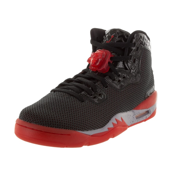 Nike Jordan Kid's Air Jordan Spike Forty Bg Black/Fire Red/ Grey Basketball Shoe