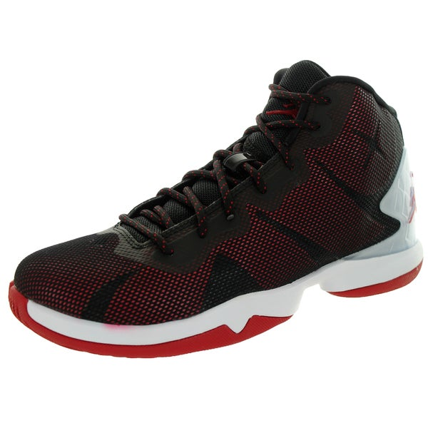 Nike Jordan Kid's Jordan Super.Fly 4 Bg Black/Gym Red/White/Infrared 23 Basketball Shoe