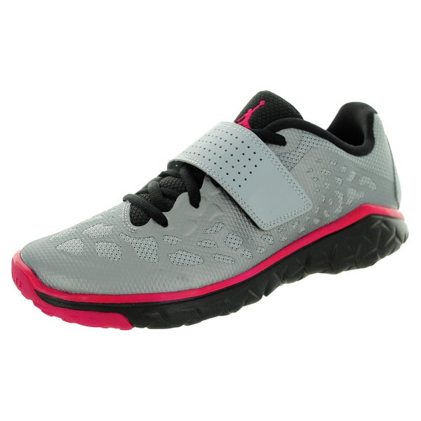 Nike Jordan Kid's Jordan Flight Flex Tr 2 Gg Wolf Grey/Sport Fuchsia/Black Training Shoe