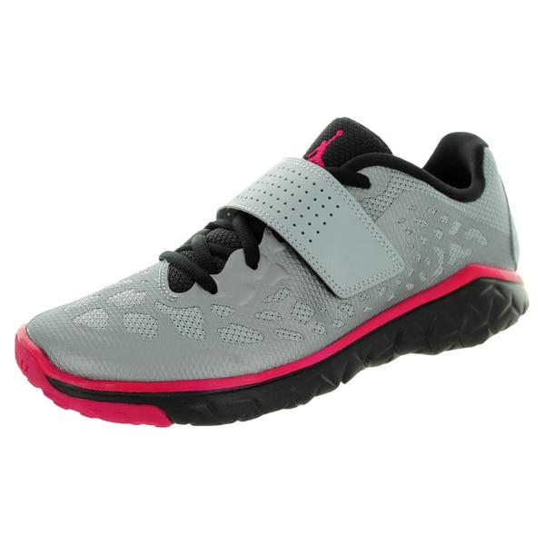 Nike Jordan Kid's Jordan Flight Flex Tr 2 Gg Wolf Grey/Sport Fuchsia/Black Training Shoe