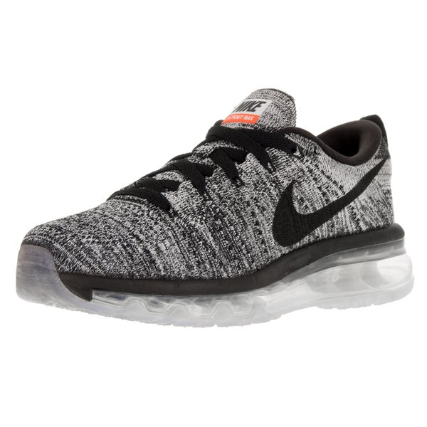 Nike Women's Flyknit Max White/Black Running Shoe