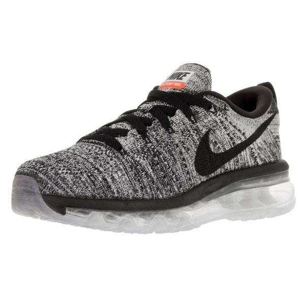 Nike Women's Flyknit Max White/Black Running Shoe
