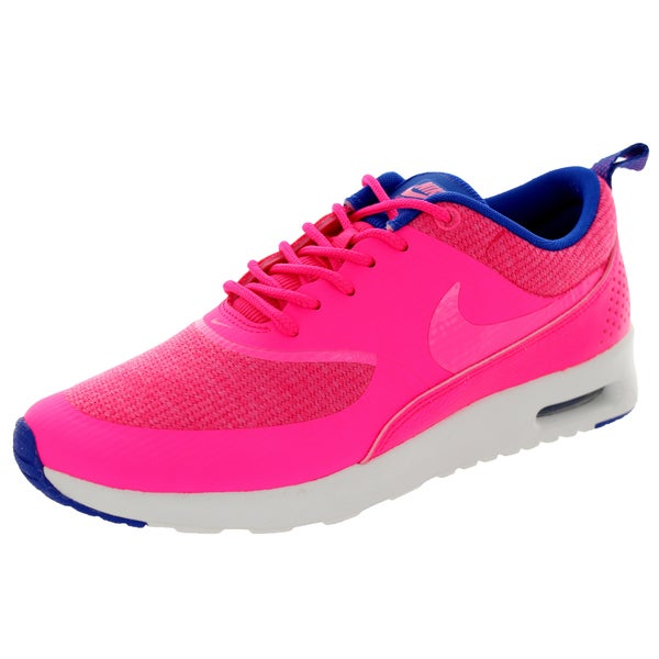 Nike Women's Air Max Thea Prm Pink/Pink Glw/ Cblt/Smm Running Shoe