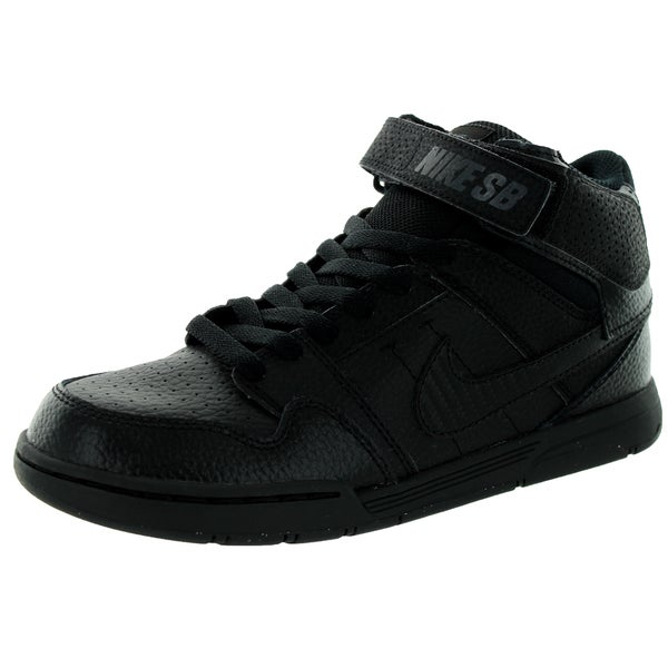 Nike Kid's Mogan Mid 2 Jr B Black/Black Skate Shoe