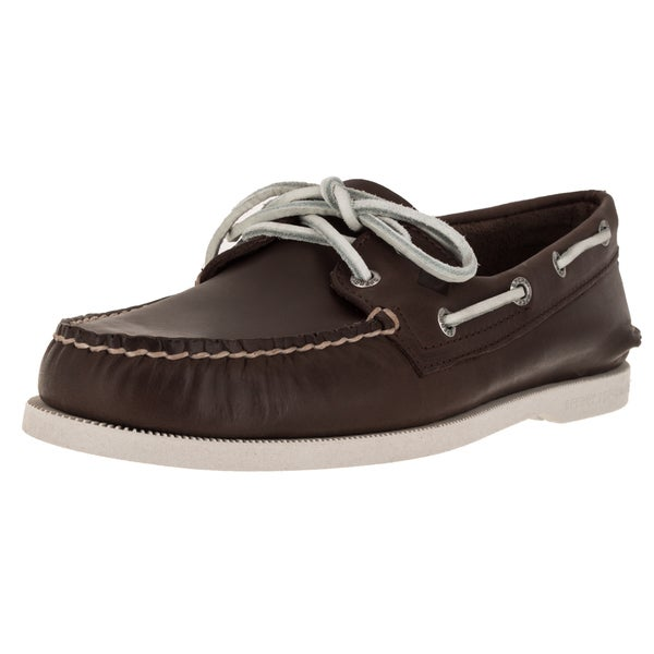 Sperry Top-Sider Men's Authentic Original 2-Eye Serape Brown Boat Shoe