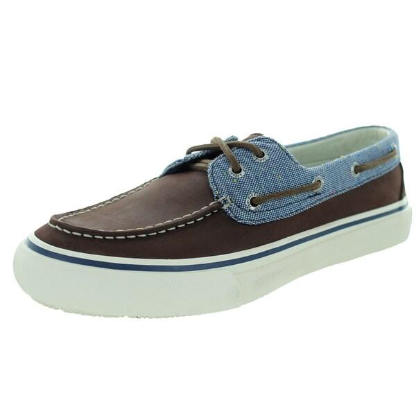 Sperry Top-Sider Men's Bahama 2-Eye Fleck Brown Boat Shoe