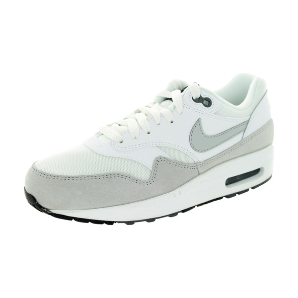 Nike Women's Air Max 1 Essential White/Grey Mist/Dark Grey/Black Running Shoe