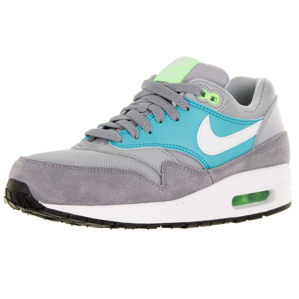 Nike Women's Air Max 1 Essential Wolf Grey/White/Stealth Running Shoe