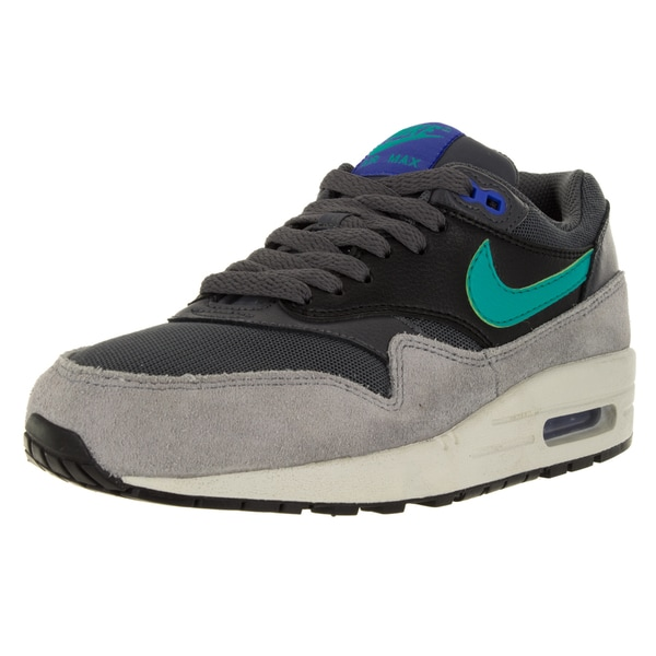 Nike Women's Air Max 1 Essential Dark Grey/Hyper Jade/Black Running Shoe