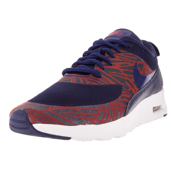 Nike Women's Air Max Thea Print Lyl Blue/Lyl Bl/University Red/White Running Shoe
