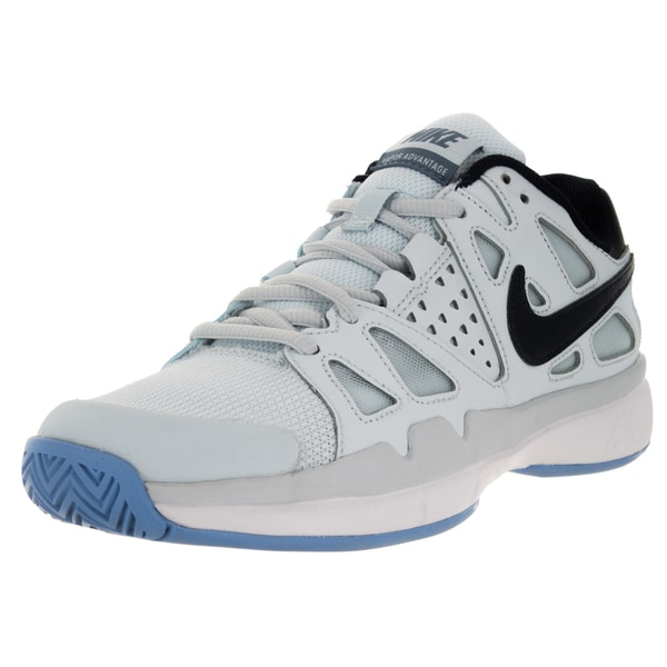 Nike Women's Air Vapor Aantage Blue Tint/Obsidian/Chalk Blueue Tennis Shoe