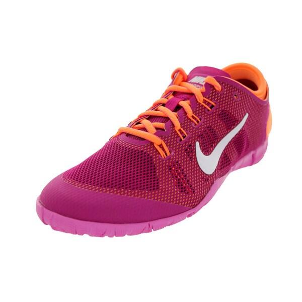Nike Women's Free Bionic Brght Magenta/White/Orange/Rd Running Shoe