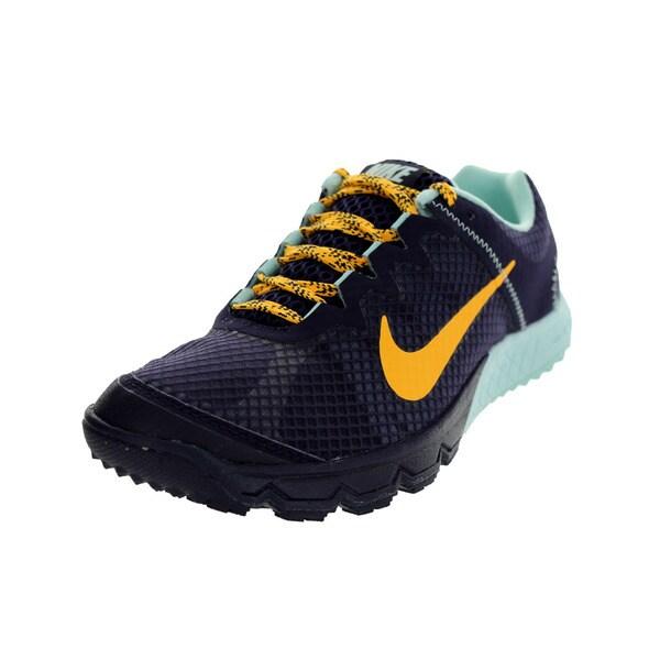 Nike Women's Zoom Wildhorse Purple Dynasty/Lsr Orange/ Tnt Running Shoe