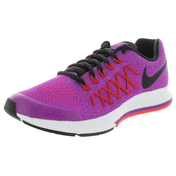Nike Kid's Zoom Pegasus 32 (Gs) Vivid Purple/Black/Brgh Running Shoe