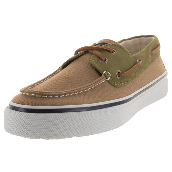 Sperry Top-Sider Men's Bahama 2-Eye Chino/Olive Boat Shoe