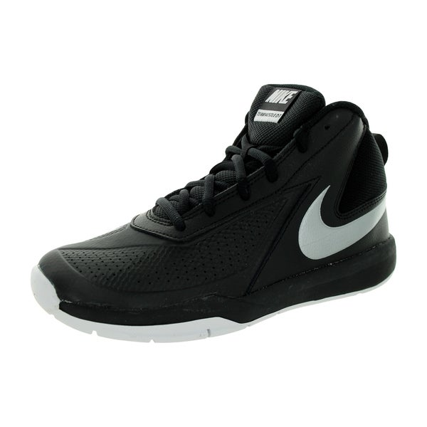 Nike Kid's Team Huse D 7 (Gs) Black/Mlc Silver/White/Black Basketball Shoe