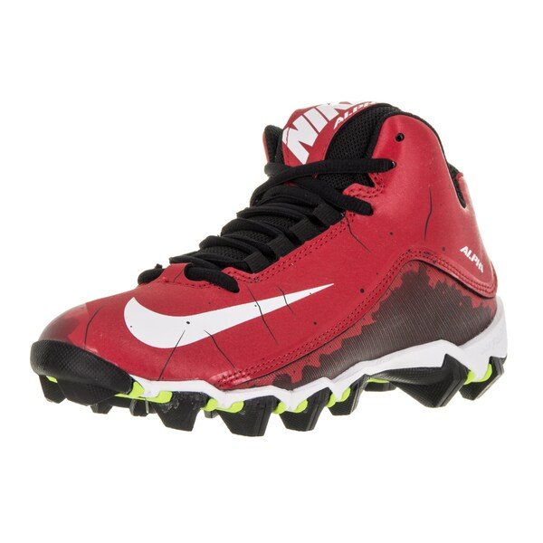 Nike Kid's Alpha Shark 2 0.75 Bg University Red/White/Black Football Cleat