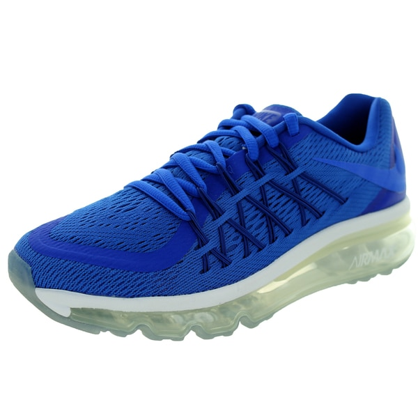 Nike Kid's Air Max 2015 (Gs) /Royal Blue/White Running Shoe