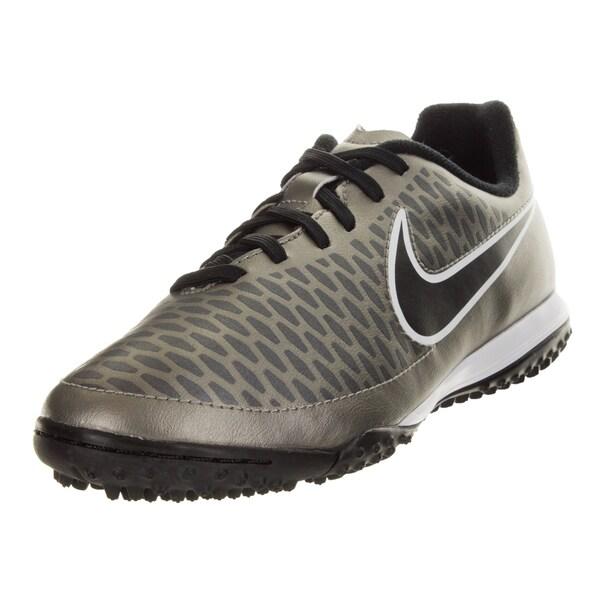 Nike Kid's Magista Onda Tf Pewter/Black/Green/White Turf Soccer Shoe