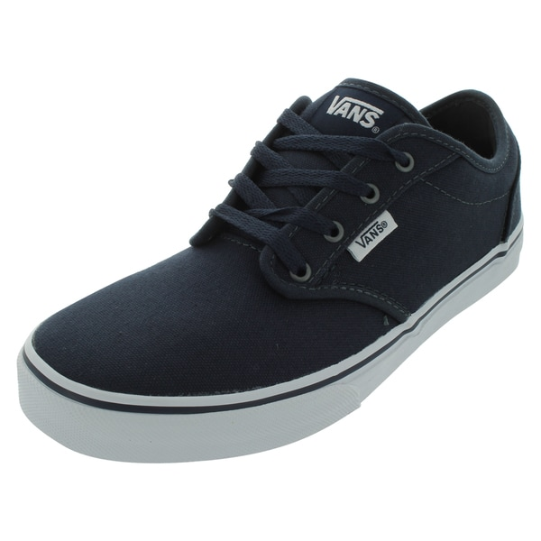 Vans Atwood (Canvas) Skate Shoes (Navy/White)