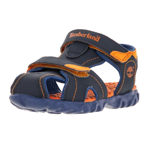 Timberland Kid's Splashtown Closed Toe Navy/Ryl Sandal