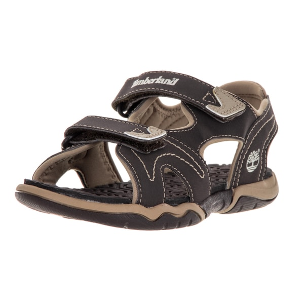 Timberland Kid's Askr 2Strap Brown/Tan Sandal