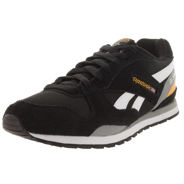 Reebok Kid's Gl 3000 Black/White/Yellow Casual Shoe
