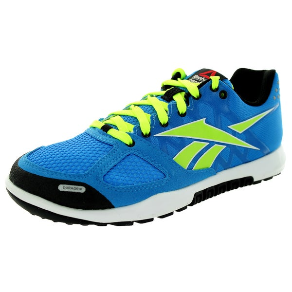 Reebok Kid's R Crossfit Nano 2.0 Blue/Yellow/White/Black Training Shoe