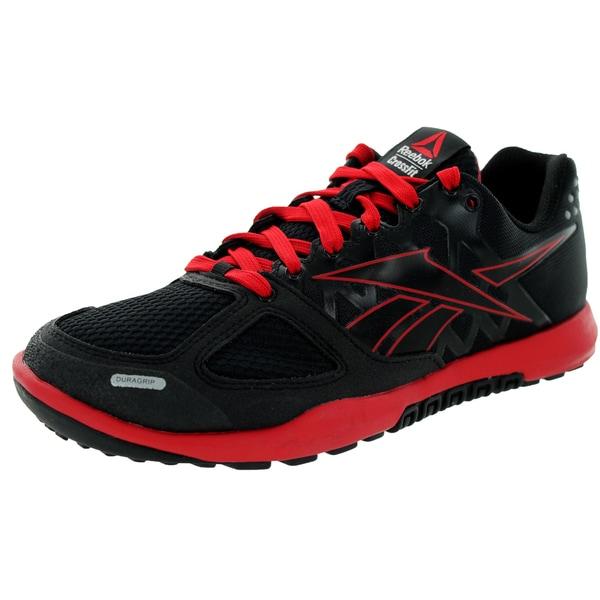 Reebok Kid's R Crossfit Nano 2.0 Black/Excellent/Red Training Shoe