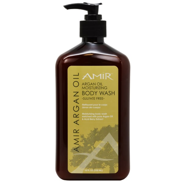 Amir Argan Oil Moisturizing Sulfate-free 18-ounce Body Wash
