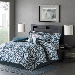Madison Park Elena Teal Comforter Set