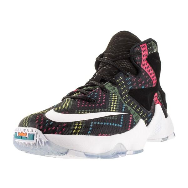 Nike Kid's Lebron Xiii Bhm (Gs) Multi/Color/White/Omega Blue Basketball Shoe