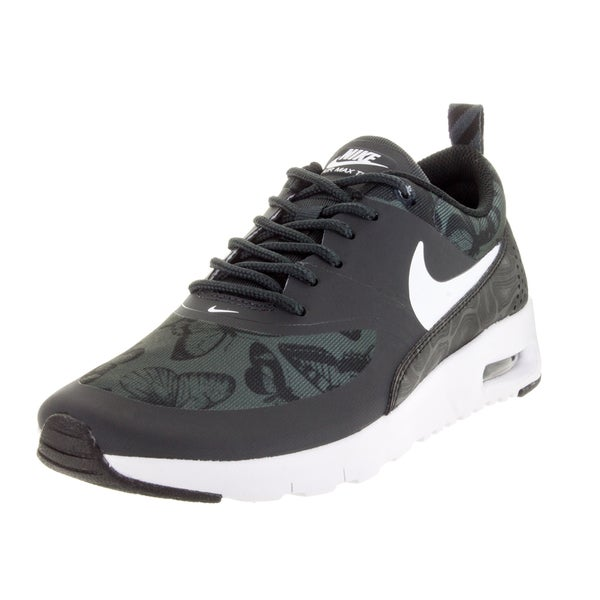 Nike Kid's Air Max Thea Se (Gs) Anthracite/White/Black Running Shoe