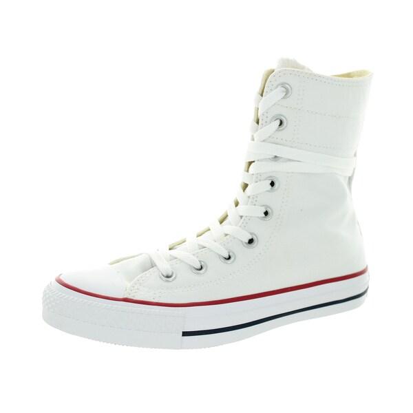 Converse Women's Chuck Taylor Hi-Rise Xhi White/Blue/R Casual Shoe