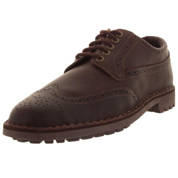 Sebago Men's Metcalf Wing Tip Dark Brown Casual Shoe