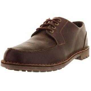 Sebago Men's Metcalf Algonqun W Dark Brown/Waxy Leather Casual Shoe