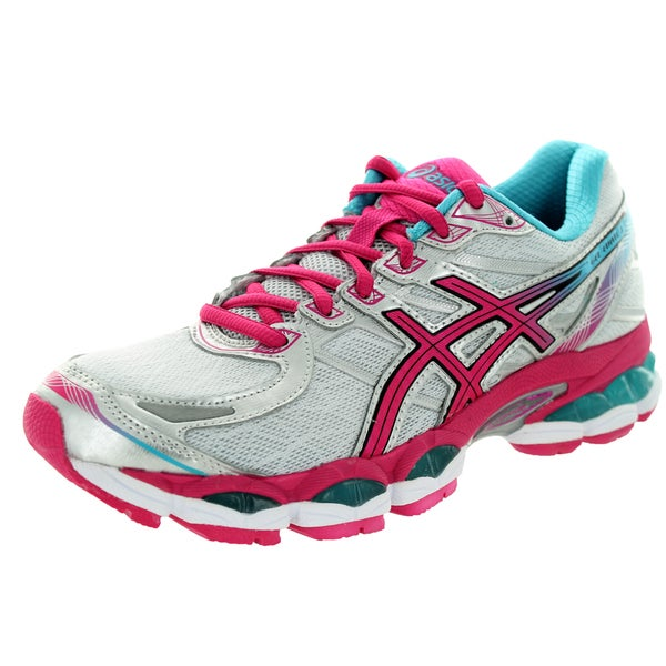 Asics Women's Gel-Evate 3 Lightning/Hot Pink/Blue Running Shoe