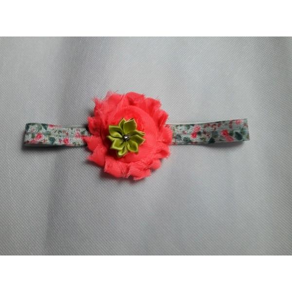 Shabby Chic Floral Headband