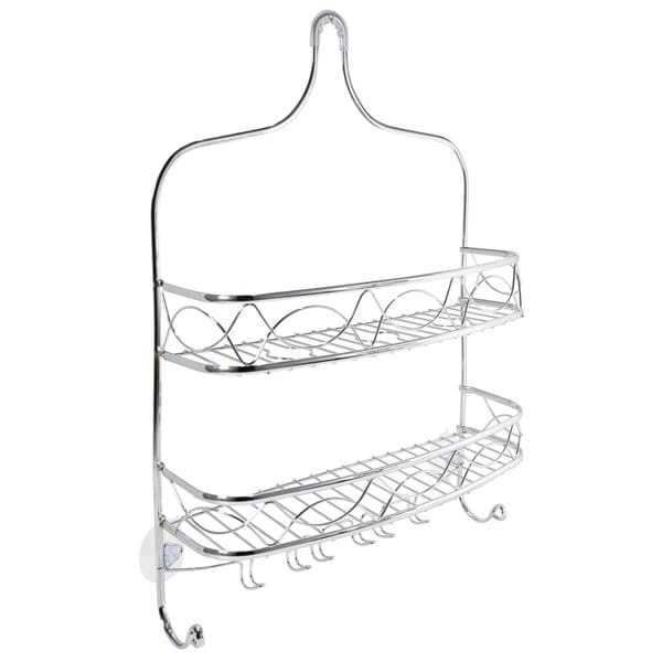 Bath Bliss Curved Crown Design Shower Caddy