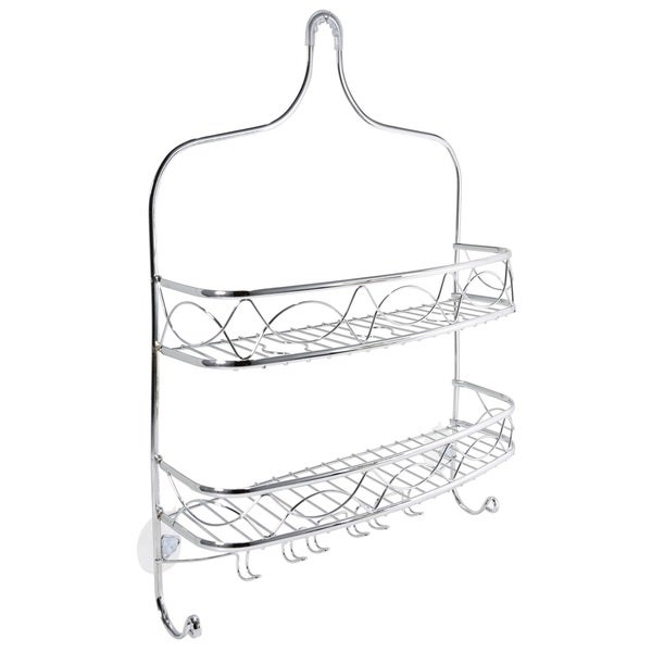 Bath Bliss Curved Crown Design Shower Caddy 19845786