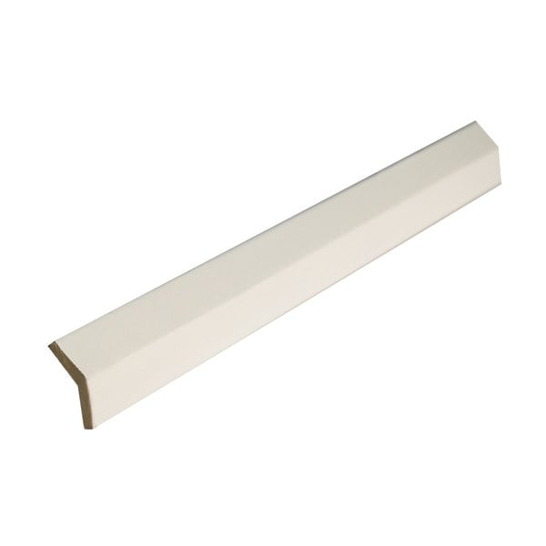 Everyday Cabinets 96-inch White Shaker Angle Outside Moulding