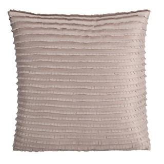 Brielle Montauk Taupe 16-inch Decorative Pillow