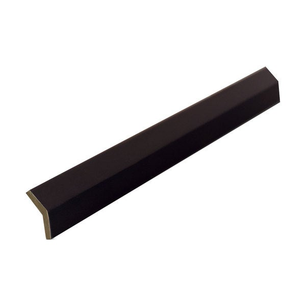 Everyday Cabinets 96-inch Dark Espresso Shaker Angle Outside Moulding