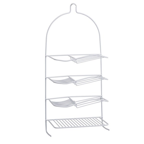 Bath Bliss Shower Caddy With Shampoo Shelf