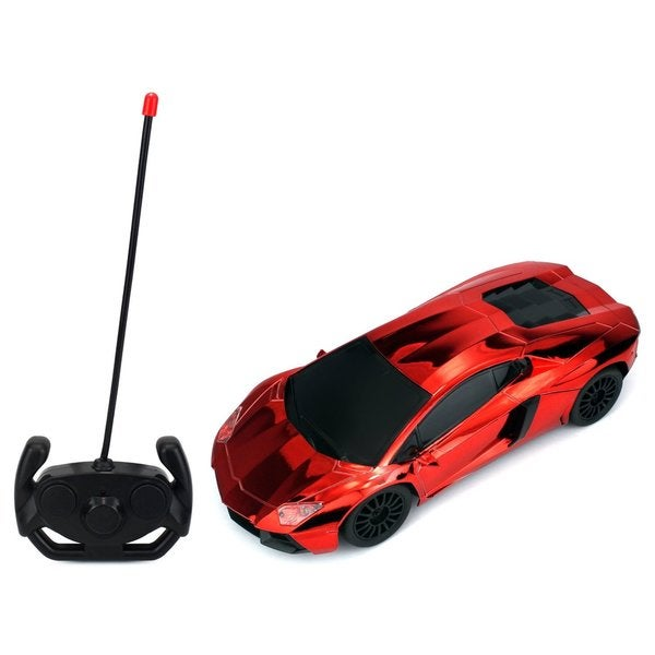 Velocity Toys Chrome Supercar Remote Control Car