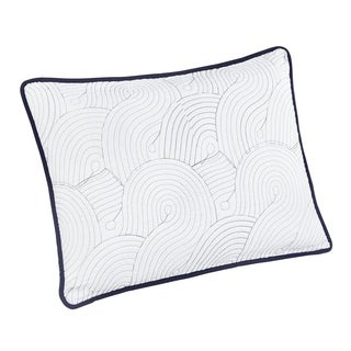 Brielle Wave Reversible Sham (Set of 2)