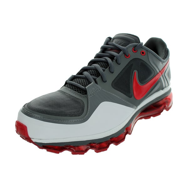 Nike Trainer 1.3 Max+ Running Shoes (Dark Grey/Varsity Red/White/Cool Grey)