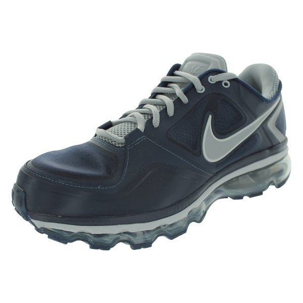 Nike Trainer 1.3 Max+ Running Shoes (Obsidian/Metallic Silver/Matte Silver)