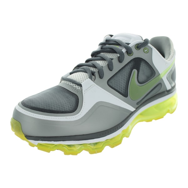 Nike Trainer 1.3 Max+ Running Shoes (Dark Grey/Volt/Matte Silver/White)