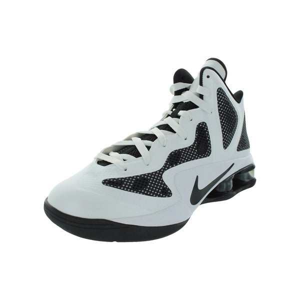 Nike Shox Air Hyperballer Tb Basketball Shoes (White/Black)
